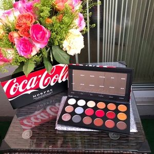 NEW Morphe x Coca-Cola Artistry Palette
